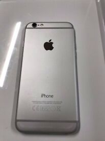 New Condition Apple iPhone 6 16GB Silver / White Unlocked SIM Free Warranty with Receipt