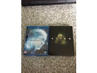 Alien Blu-ray steelbook and Prometheus Blu ray