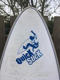 Red back quick stick kids surf board 6ft