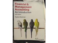 Financial & Management Accounting textbook