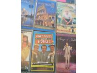 A selection of Video Tapes (x35); Country music, Daniel O'Donnel, Morcambe&Wise, Only fools& horses