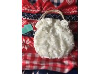 Monsoon flower girl bag new with tags