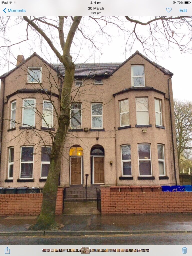 studio flat at ash tree road in crumpsall, manchester, m8 5sa, dss