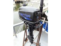 Vector 5hp outboard engine for sale good condition