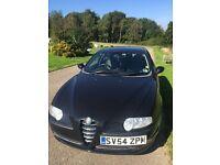 Alfa 147 T Spark,2004,Black,Alloys ,Mot,