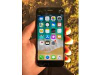 Iphone 7 with cracked screen