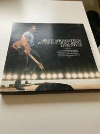 Bruce Springsteen & Street band live 1975-85 vinyl