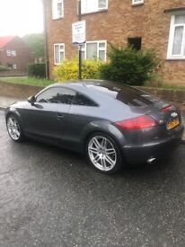 audi tt 3.2 Quattro red heated leathers,full service History private glass all round