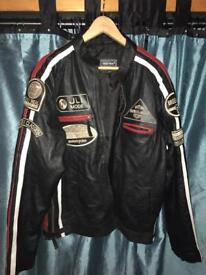 Motorcyle look Soft leather Jacket