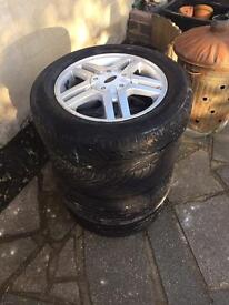 Set of 4 ford alloy wheels 15 inch 5 twin spoke £50