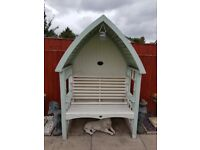 AFK Cottage Arbour - Sage and Cream