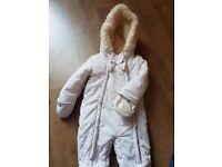 Girls Jasper Conran snowsuit