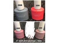 Candy coat Gel polishes - £5 each - Never Used.