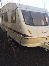 !!BARGAIN!! ELDDIS WISP 450/ET SUPREME 1998 4 BERTH TOURING CARAVAN