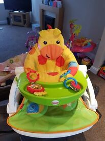 Fisher price sit me up and play nest
