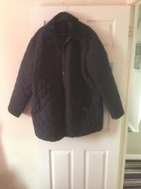 Genuine barbour quilted jacket