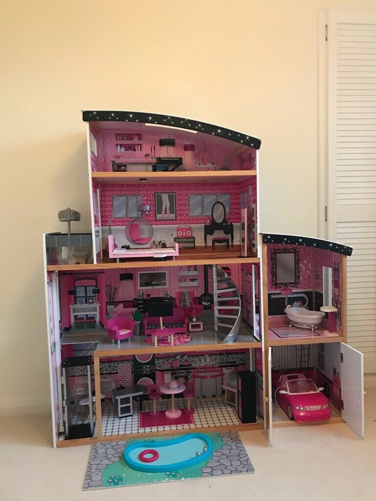 Kidkraft Sparkle Mansion Wooden Dolls House In Chandlers Ford Hampshire Gumtree