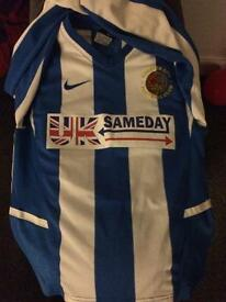 Chester city shirt and coat