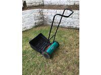 Hand Push Cylinder Lawnmower. Bosch AHM 38 G