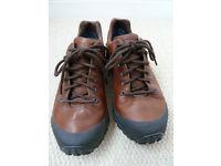 Men's leather shoes, size 7 UK, Merrel Gore Tex, dark brown