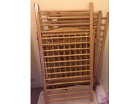 Pine cot x 2 available