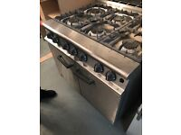 Brand New Falcon 6 ring commercial gas cooker and oven