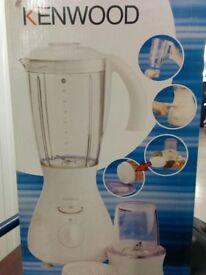 Kenwood Blender, Kenwood Whisk, Morphy Richards Toaster & JML Halogen Oven