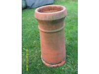 Chimney Pot, original red clay pot