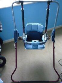 Baby swing - Metal frame