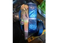 Tie down ratchet lashing straps