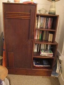 Retro bookcase