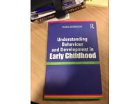 Understanding Behaviour and Development in Early Childhood