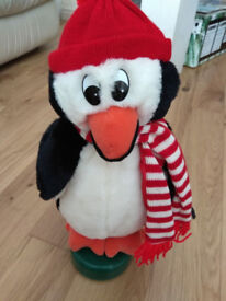 Christmas decoration penguin