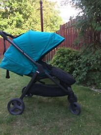 Mamas and Papas Armadillo Teal Tide pushchair