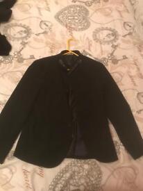 Zara formal jacket small size black