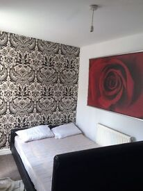 A fully furnished & upgraded 1 bedroom ground flr flat with separate lounge, kitchen and a courtyard