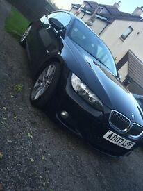 BMW 335d Twin turbo m-sport coupe 2007 auto