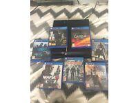 PS4 PlayStation 4 + 11 games LooK