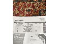 Drake standing ticket, hydro, Glasgow, 25th of January