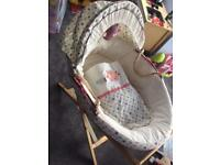 Lollypop lane moses basket