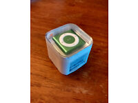 Green iPod Shuffle 2GB - new, unopened and sealed