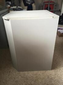Grey corner storage ottoman