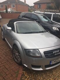 Audi TT for sale 3.2l 4 wheel drive auto