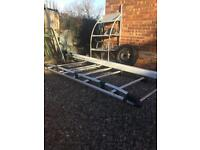 Ford transit connect rhino alloy full length roof rack & pipe tube