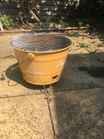 BBQ portable bucket for free