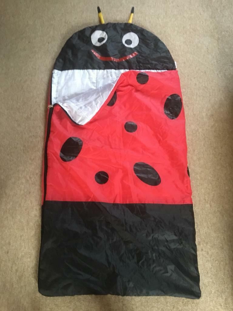 Child's sleeping bag.