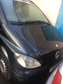 Mercedes Vito 111 cdi travel liner 9 leather Seater
