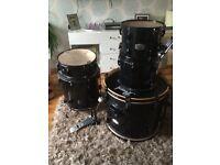 Pearl export 5 piece drums