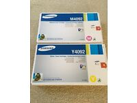 Samsung Printer Toner Yellow and Magenta CLP310/315 or CLX3170/3175