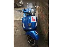 16 plate Vespa gts!! Still under warranty!!